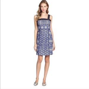 Tory Burch Margaux lace overlay dress